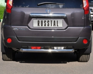 NISSAN X-Trail 2011 защита заднего бампера d76 XNZ-000965
